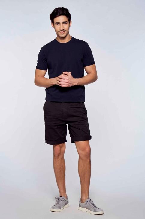 Bruce & Butler Shorts zwart BRB213MT 012_BLACK img2