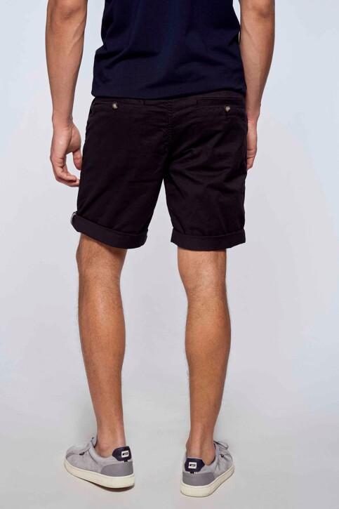 Bruce & Butler Shorts zwart BRB213MT 012_BLACK img3