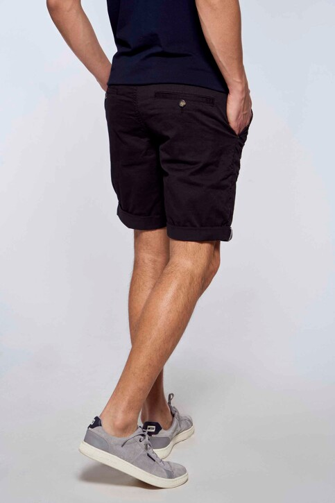 Bruce & Butler Shorts zwart BRB213MT 012_BLACK img4
