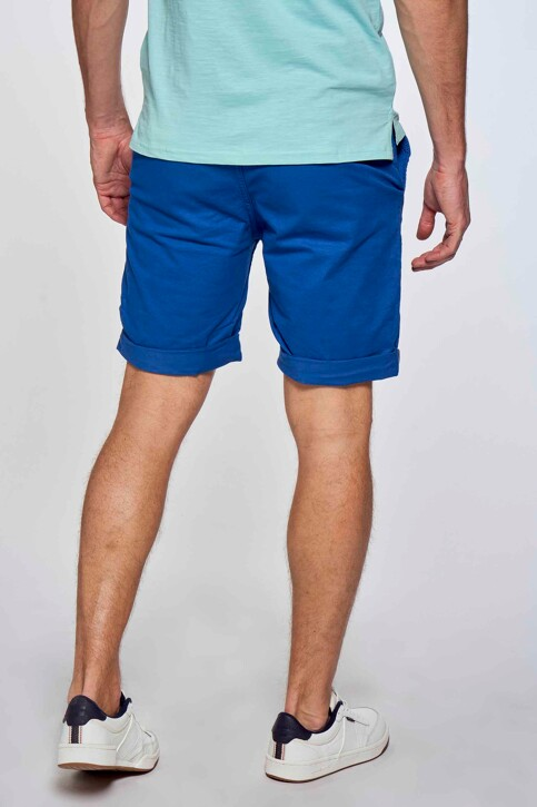 Bruce & Butler Shorts blauw BRB213MT 012_ELECTRIC BLUE img4