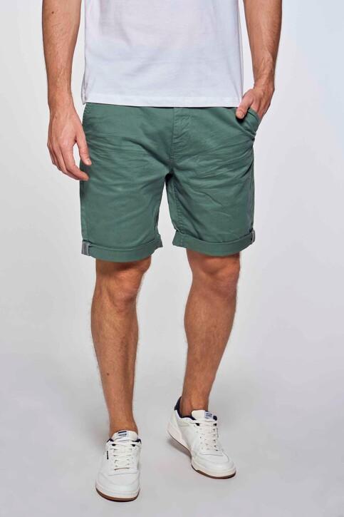 Bruce & Butler Shorts groen BRB213MT 012_GREEN img2
