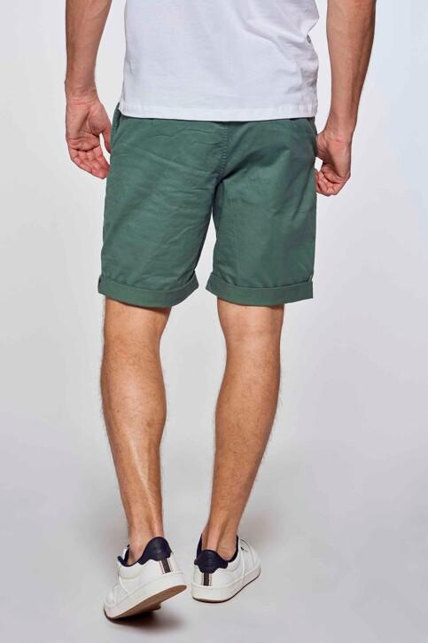 Bruce & Butler Shorts groen BRB213MT 012_GREEN img3