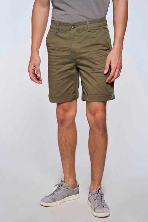 Bruce & Butler Shorts groen BRB213MT 012_OLIVE img1