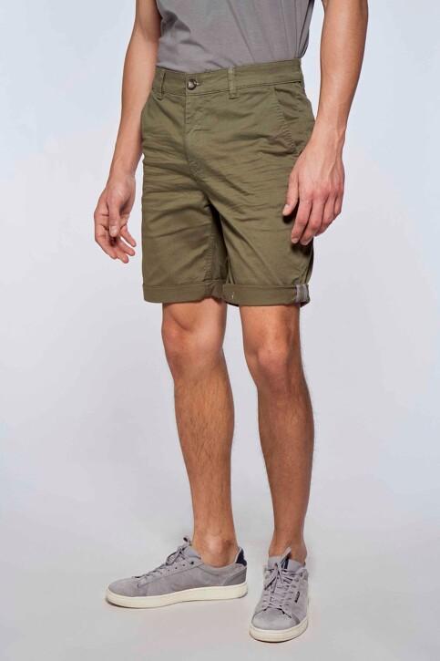 Bruce & Butler Shorts groen BRB213MT 012_OLIVE img3