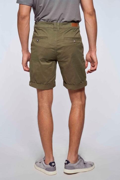 Bruce & Butler Shorts groen BRB213MT 012_OLIVE img4