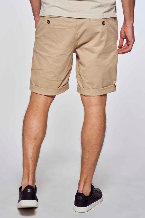 Bruce & Butler Shorts beige BRB213MT 012_SAND img3