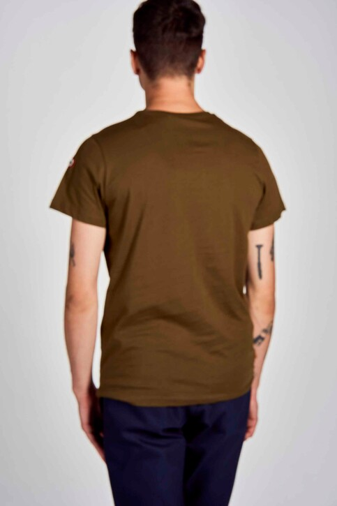 Cyclo Club Marcel T-shirts (korte mouwen) groen CCM202MT 020_KHAKI GREEN img3