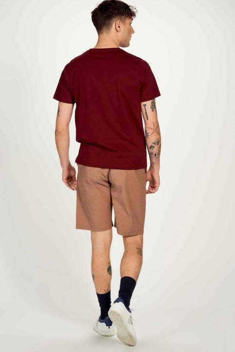 Cyclo Club Marcel T-shirts (korte mouwen) bordeaux CCM211MT 006_ZINFANDEL img3