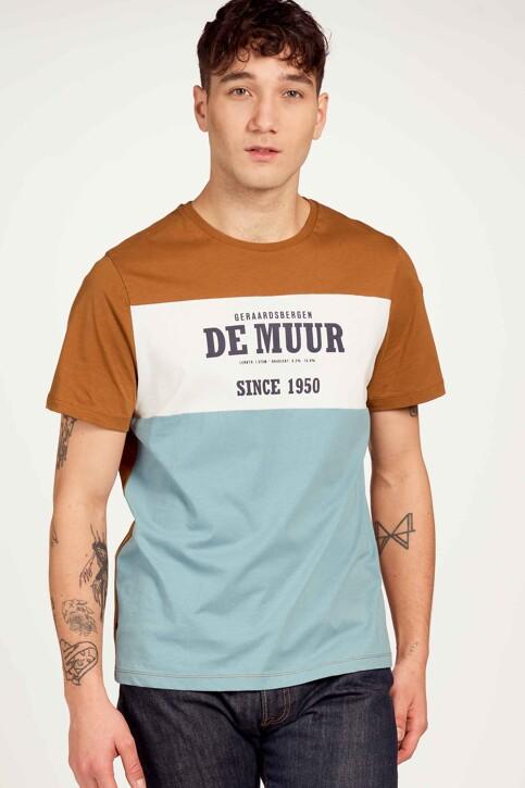 Cyclo Club Marcel T-shirts (korte mouwen) bruin CCM211MT 008_RUBBER img1