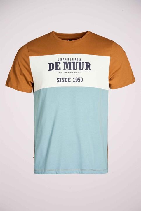 Cyclo Club Marcel T-shirts (korte mouwen) bruin CCM211MT 008_RUBBER img3