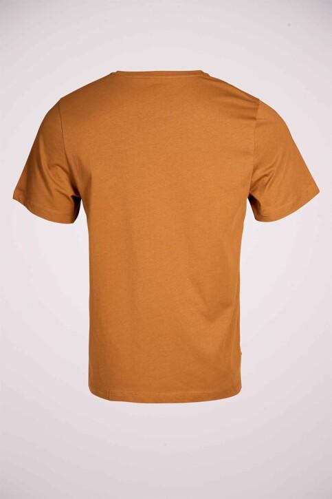 Cyclo Club Marcel T-shirts (korte mouwen) bruin CCM211MT 008_RUBBER img4