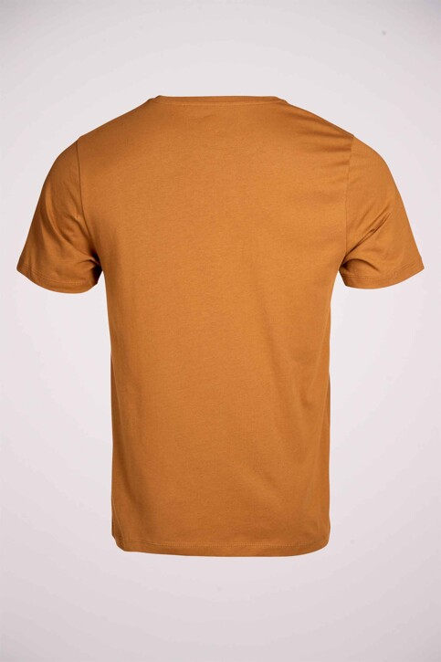 Cyclo Club Marcel T-shirts (korte mouwen) bruin CCM211MT 009_RUBBER img5