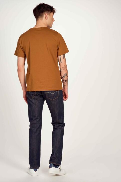 Cyclo Club Marcel T-shirts (korte mouwen) bruin CCM211MT 011_RUBBER img3