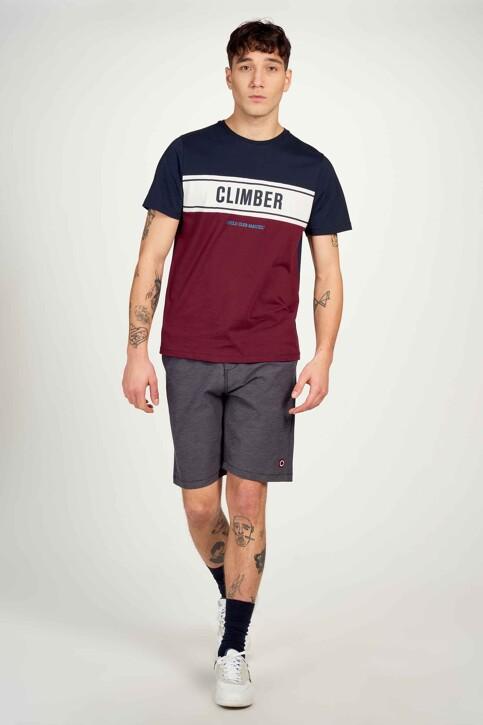 Cyclo Club Marcel T-shirts (korte mouwen) blauw CCM211MT 013_NAVY BLAZER img2
