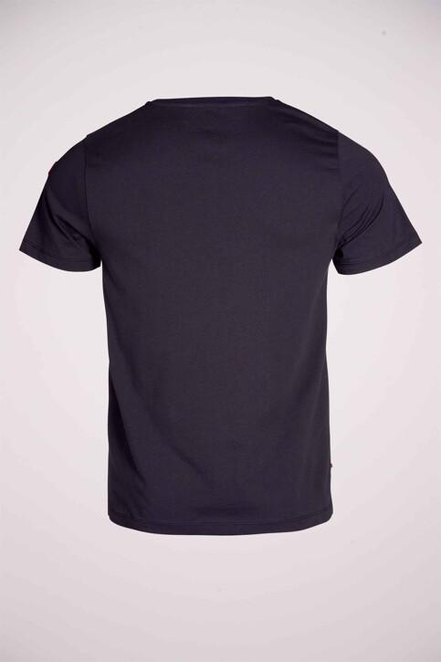 Cyclo Club Marcel T-shirts (korte mouwen) blauw CCM211MT 013_NAVY BLAZER img4
