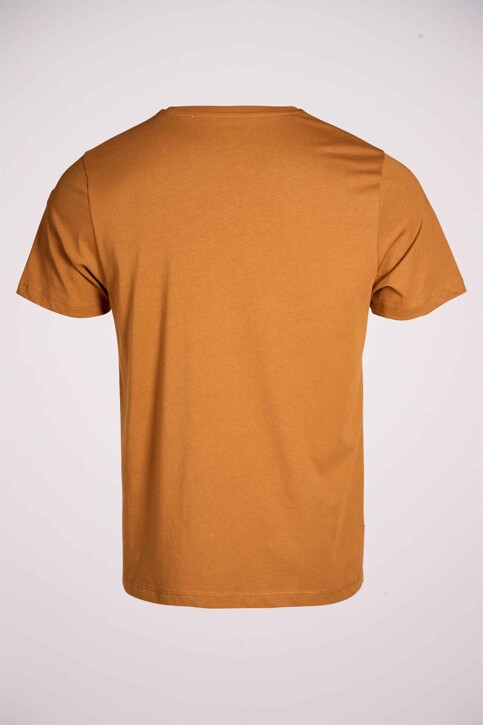 Cyclo Club Marcel T-shirts (korte mouwen) bruin CCM211MT 014_RUBBER img4