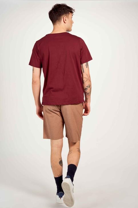 Cyclo Club Marcel T-shirts (korte mouwen) bordeaux CCM211MT 025_ZINFANDEL img3