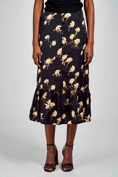 Clouds of Fashion Jupes 3/4 noir COF201WT 009_BLACK img2