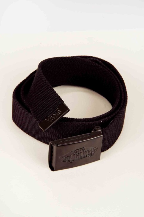 "VANS ""OFF THE WALL"" Riemen zwart CONDUCTOR WEB BELT_BLACK img1"