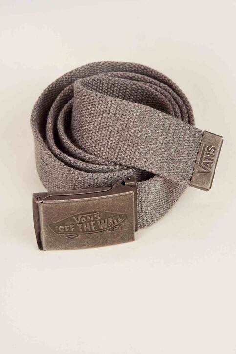 """VANS """"OFF THE WALL"""" Ceintures gris CONDUCTOR WEB BELT_HEATHER SUITING img1"""