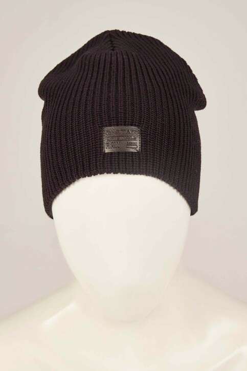 G-Star RAW Bonnets noir D036608529_BLACK img1