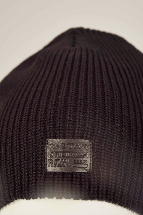 G-Star RAW Bonnets noir D036608529_BLACK img2