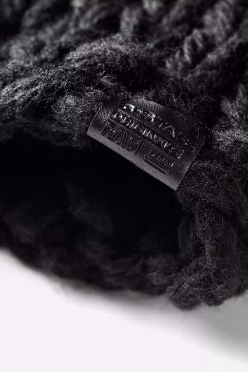 G-Star RAW Bonnets noir D054969033_BLACK img3