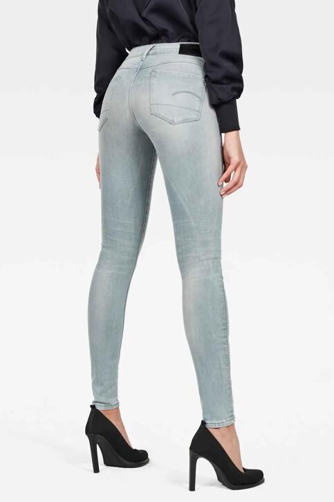 G-Star RAW Jeans skinny gris D057009882071_071 WESS GREY img2