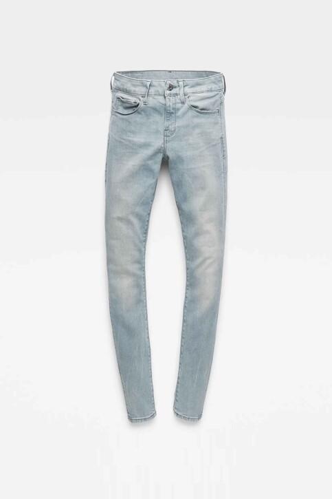 G-Star RAW Jeans skinny gris D057009882071_071 WESS GREY img4