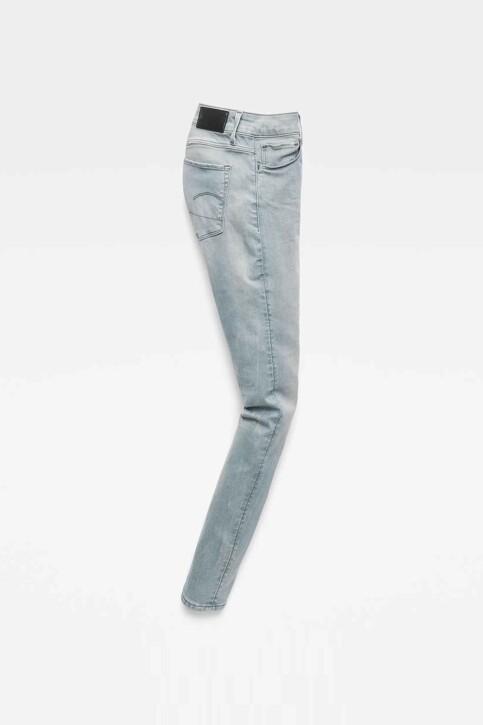 G-Star RAW Jeans skinny gris D057009882071_071 WESS GREY img5