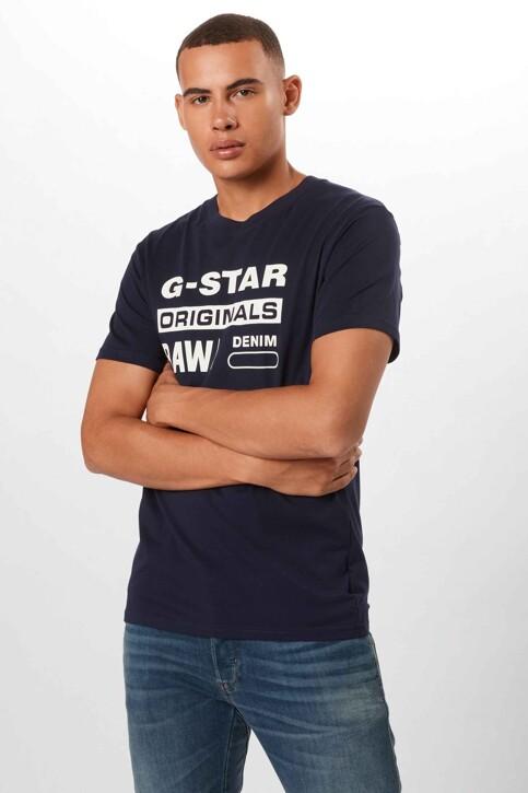 G-Star RAW T-shirts (korte mouwen) denim D141433366067_6067 SARTHO BLU img1
