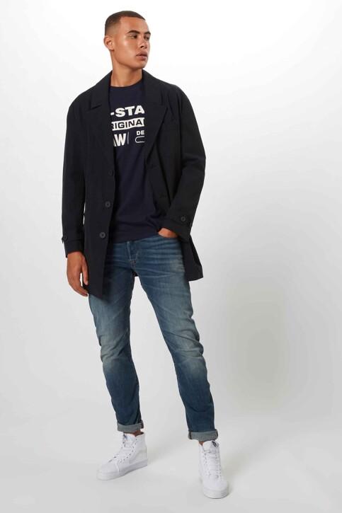 G-Star RAW T-shirts (korte mouwen) denim D141433366067_6067 SARTHO BLU img2