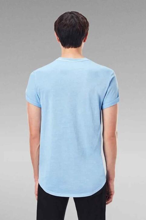 G-Star RAW T-shirts (korte mouwen) blauw D163962653C260_C260 DELTA BLUE img3