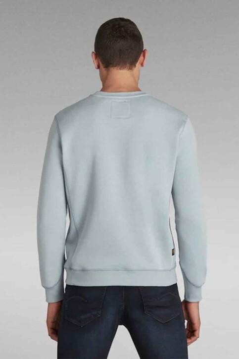 G-Star RAW Sweaters met ronde hals blauw D16917C2356481_6481 FAZE BLUE img3