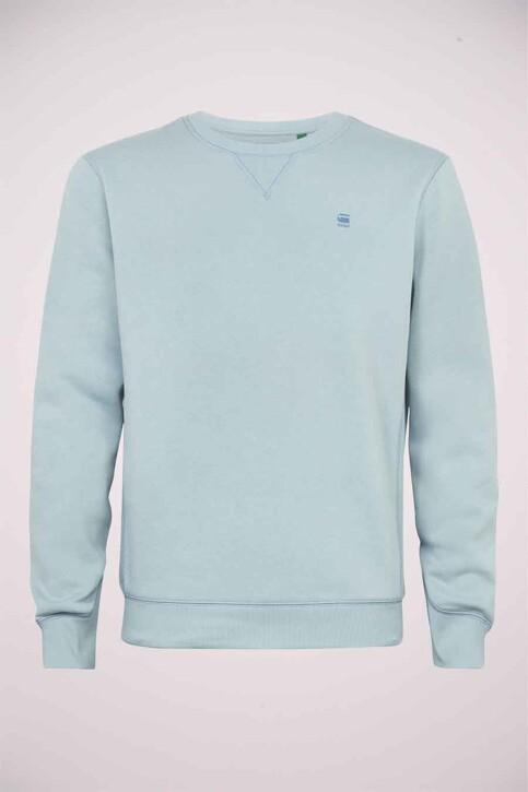 G-Star RAW Sweaters met ronde hals blauw D16917C2356481_6481 FAZE BLUE img4