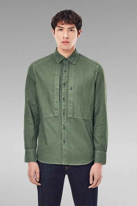 G-Star RAW Hemden (lange mouwen) groen D189637647C249_C249 COMBAT img1