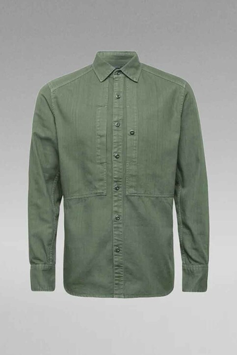 G-Star RAW Hemden (lange mouwen) groen D189637647C249_C249 COMBAT img3