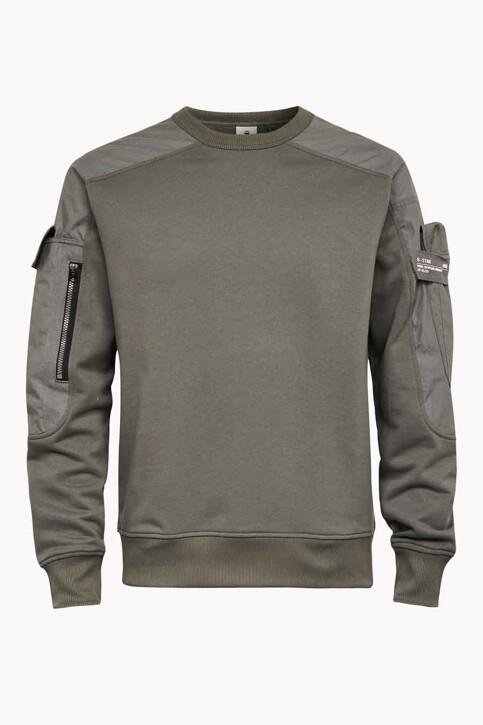 G-Star RAW Sweaters met ronde hals grijs D19836A6131260_1260 GS GREY img1