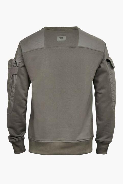 G-Star RAW Sweaters met ronde hals grijs D19836A6131260_1260 GS GREY img2