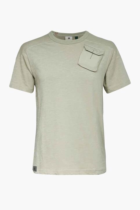 G-Star RAW T-shirts (korte mouwen) groen D19841C3723767_3767 GREGE G img1