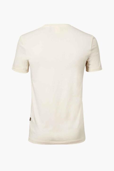 G-Star RAW T-shirts (korte mouwen) wit D19860336159_159 ECRU img2