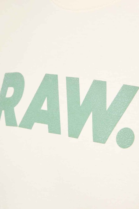 G-Star RAW T-shirts (korte mouwen) wit D19860336159_159 ECRU img3