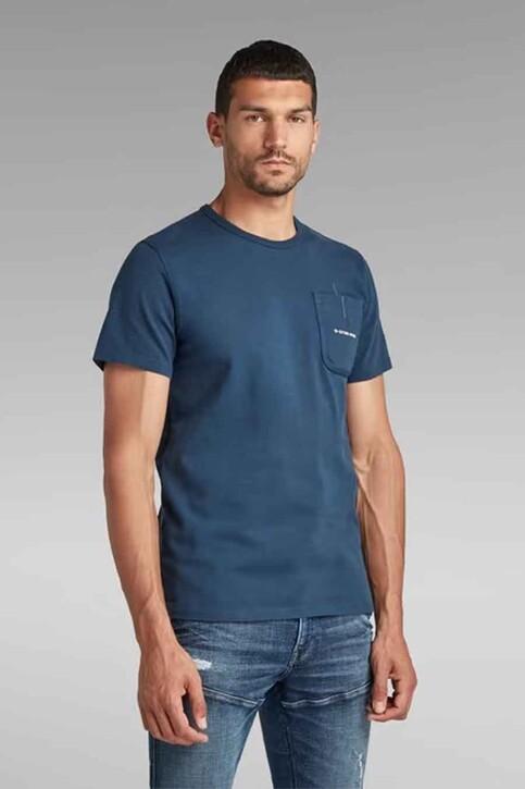 G-Star RAW T-shirts (korte mouwen) blauw D20189C784C630_C630 LUNA BLUE img1