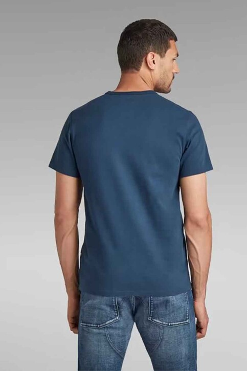 G-Star RAW T-shirts (korte mouwen) blauw D20189C784C630_C630 LUNA BLUE img2