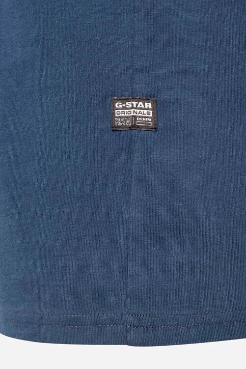 G-Star RAW T-shirts (korte mouwen) blauw D20189C784C630_C630 LUNA BLUE img4