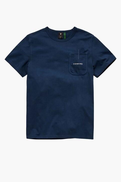 G-Star RAW T-shirts (korte mouwen) blauw D20189C784C630_C630 LUNA BLUE img5