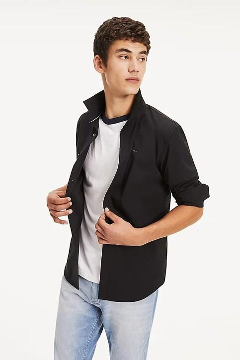 Tommy Hilfiger Hemden (lange mouwen) zwart DM0DM04405078_078TOMMY BLACK img1