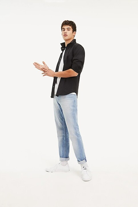 Tommy Hilfiger Hemden (lange mouwen) zwart DM0DM04405078_078TOMMY BLACK img2