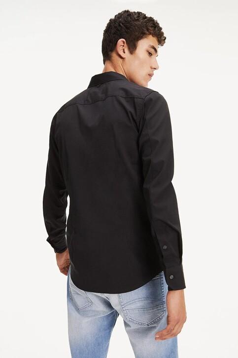 Tommy Hilfiger Hemden (lange mouwen) zwart DM0DM04405078_078TOMMY BLACK img3