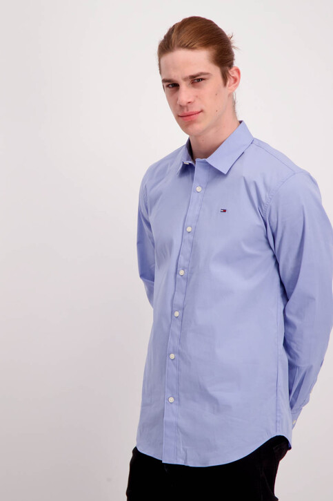 Tommy Hilfiger Hemden (lange mouwen) paars DM0DM04405556_556LAVENDER LU img1